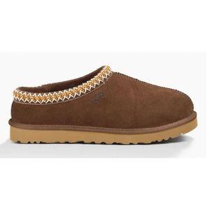 UGG Men's Tasman Brown Suede Leather Slippers